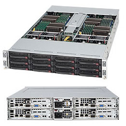 SuperServer 6012TT-IBQF 2U TWIN with QDR Infiniband