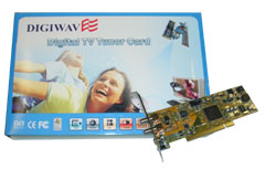 Digiwave PCI Satelitte Card Model 103G With Remote