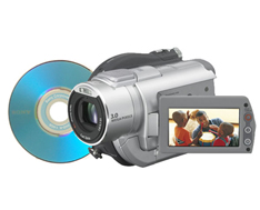Sony DCRDVD405 DVD HandyCam with 3.3 Megapixel Advanced HAD CCD Imager