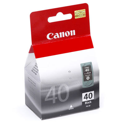 Canon PG-40 Black for PIXMA ip1600/2200/MP150/MP170/MP450