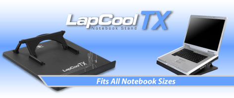 LPC-450TX-Lapcool TX Notebook stand