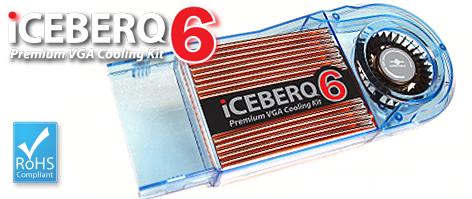 ICEBERQ-6 Premium VGA Cooling Kit-Model-CCB-A6C