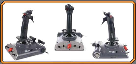 AVIATOR-Dual Throttle Flight Joystick Control