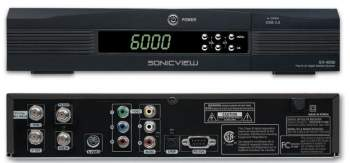 SV-4000 Free To Air Satellite Receiver