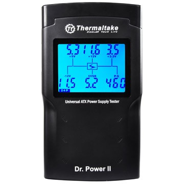 Dr.Power II LCD Universal ATX Power Supply Tester (PS-224 )