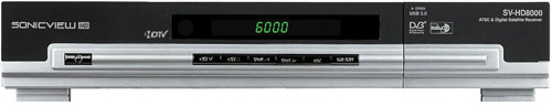 SV-HD8000 ATSC & Digital Satellite Receiver