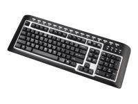 Scorpius-P21 Multimedia Keyboard (PS/2 Bilingual)