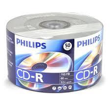 50 Pack Spindle CD-R Disks