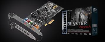 SB-Audigy FX  Audio PCIe 5.1 sound card-Retail Box.