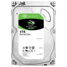 "BarraCuda 4TB 3.5"" Internal Desktop HDD SATA 6Gb/s, Model-ST4000DM005-OEM Desktop HD."