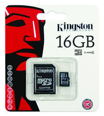 16GB MICRO SDHC High Speed/Class 10
