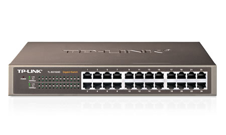 24-Port Gigabit Desktop/Rackmount Switch (TL-SG1024D)