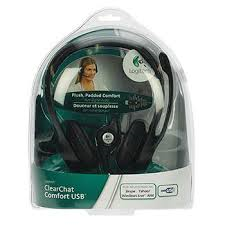 H390, USB Headset - Comfortable Design, Noise-Canceling Mic, In-Line Audio Controls,