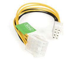 "8"" EPS 8 Pin Power Extension Cable"