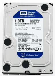 Blue (WD10EZEX) 1TB SATA3 6GB/s 7200RPM 64MB Cache (OEM)