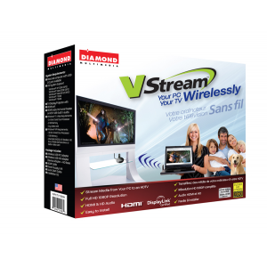 Vstream-Multimedia WPCTV1080H VStream Wireless USB PC to TV at 1080P