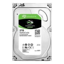 3TB/Barracuda (ST3000DM008) SATA3 6.0Gb/s/64MB Cache (OEM) Desktop HD.