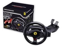 Ferrari GT Experience Racing Wheel for PS3/PC. with Vibration Feedback/TouchSense Technology.