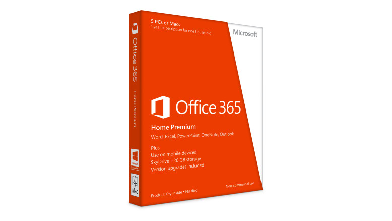 Office 365 Home Premium with Product Key upto 5PC's or Macs in 1year Subscription for one Household