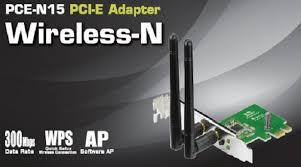 PCE-N15 Wireless-N 300Mbps  PCIe  Card.