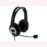LifeChat LX-3000 USB Headset with Premium Stereo Sound/Noise Cacelling Microphone