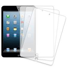 Clear scratch resistant film/screen protector for Ipad Mini-Material from Japan. (1pc)