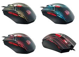 TTesports Talon Gaming Mouse with 3000dpi/6 colors cycling effect.
