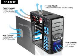 Clipeus-ATX Mid.Tower Gaming Case with Front USB3.0/2x 120mm Fans