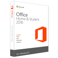 Office Home and Student 2016 Win English 1 License Only Medialess (79G-04368)
