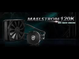 Maelstrom-120K, Liquid CPU Cooler Kit for intel & AMD Processor.