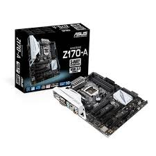 Z170-A ATX Gaming Board with USB3.1/10Gb/s.+ 5 way Optimization.