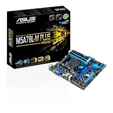 M5A78L-M/PLUS USB3 MATX Board supports AM3+ CPU's/4x DDR3/DIMM