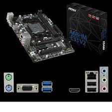 A68HM-E33-V2 MATX Board for AMD/FM2+ CPU's/Military Class 4.