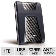 1TB-USB3.0 Portable HD. with triple layer protection plus 3yr. limited warranty.Model-HD650