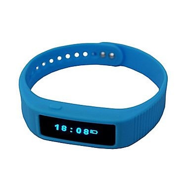 Smart Wrist S5, Built-in Bluetooth 4.0 Color available, Blue or Black.