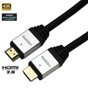 6ft.28AWG Version 2.0 W/Ethernet, 3D, 4K Colour upto 60fps, 18Gps,Gold Plated M//M
