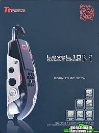 Level 10 M 8200dpi Aluminum Laser Gaming Mouse (Retail Box) by Thermaltake