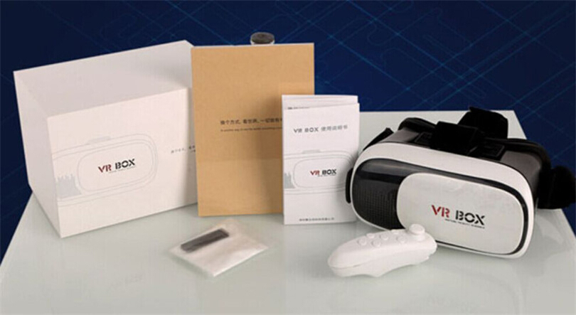 3D Virtual Reality Glasses-VR BOX-Ver.2 with Controller-Brand New-2016 model.