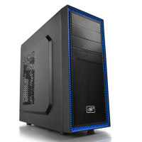 Tesseract-ATX Gaming Black Case with USB3.0/120mm  Rear Fan.