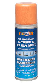 LCD,LED & Plasma Screen Cleaner-Non-Drip Foam.Mousse.400g.