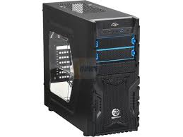 VERSA-H23 Mid. Tower Gaming Chassis with side window.