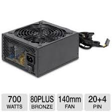 700w , 80plus, 13.5cm Cooler,Ball Bearing LED Fan with net cables prevent from EMI.