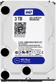 3TB BLUE-Desktop Hard Disk Drive - 5400 RPM SATA 6 Gb/s 64MB Cache 3.5 Inch - WD30EZRZ