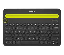 Bluetooth Multi-Device Black Keyboard K480 for Computers, Tablets and Smartphone- (Refurbished Unit.)