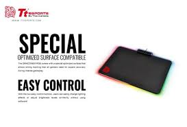 Draconem RGB ( illuminated 16.8 million colors) Gaming Mouse Pad only , Non-Slip Rubber Base.