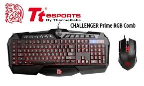 CHALLENGER Prime Illuminated RGB with Stunning effects, Gaming Keyboard and Mouse Combo