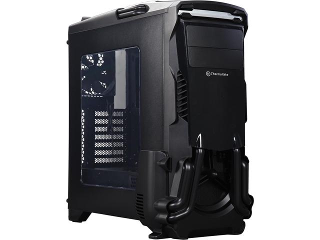 Versa N24 Black SPCC ATX Gaming Mid Tower, Gaming Case only, Model: CA-1G1-00M1WN-00