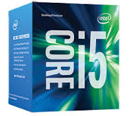 Core i5-7400 ( Kaby Lake) Quad-Core Processor ,3.0GHz, 6MB L3 Cache (Retail Boxed) Gen7.