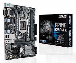 PRIME B250M-K MATX Board for intel SK-1151 CPU's.