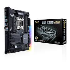 TUF X299 MARK 2 Socket 2066 Intel X299 Chipset/RGB Lighting/ ATX Board with 5yr. limited Warranty.